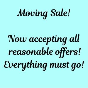 Other - Moving Sale! Everything must go!